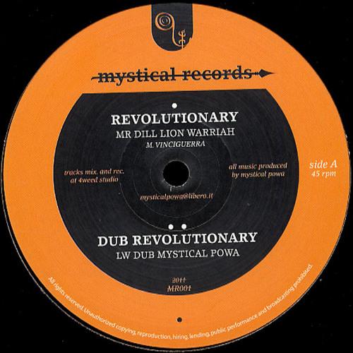 "MR001 - MR DILL LION WARRIAH - ""REVOLUTIONARY + DUB"""