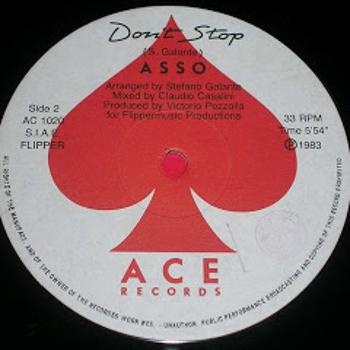 Asso - Don't Stop - Re Edit