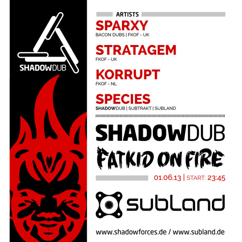 Shadowdub x FatKidOnFire promo mix