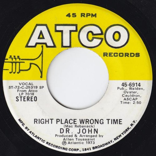 Right Place, Wrong Time (Hippie Torrales Edit) 103 Ebmin