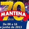 SPOT - FESTA MANTENA 2013 - 08 A 16 DE JUNHO