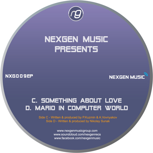 "NXG009EP-C - PHYSICAL & CRIMEA - 'Something About Love' (12"" OUT NOW!)"