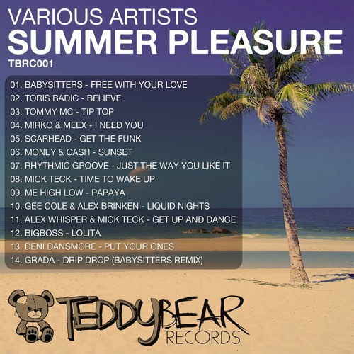 BIGBOSS - 'Lolita' included in VVAA - Summer Pleasure by TEDDY Bear Records