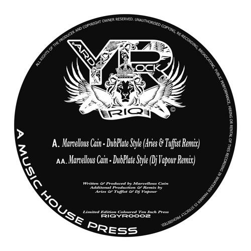 RIQYR0002AA - Marvelous Cain - DubPlate Style - Dj Vapour Remix Remix