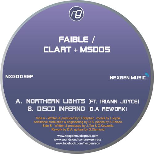 "NXG009EP-B - CLART & MSDOS - 'Disco Inferno' - (D.A's Rework) (12"" OUT NOW!)"