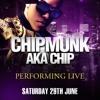 CHIPMUNK aka CHIP @ ELEVATION, CLOUCESTER 29.06.13