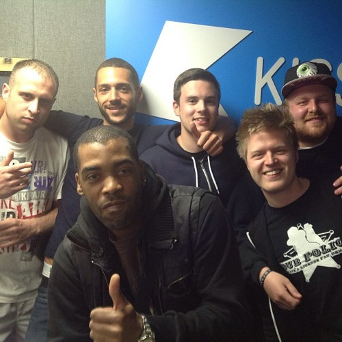 Dub Police with Crazy D taking over Hatcha's show on Kiss FM 22nd May 2013