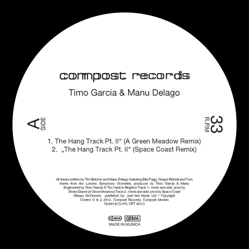 Timo Garcia & Manu Delago - The Hang Track Pt. II (A Green Meadow Remix)