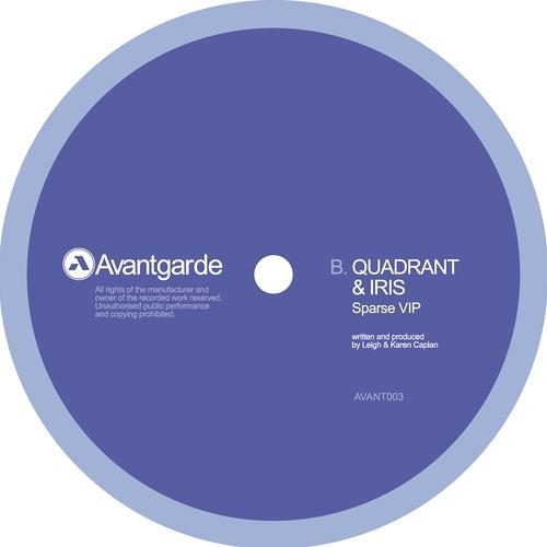 Quadrant & Iris - Sparse VIP [Avantgarde]