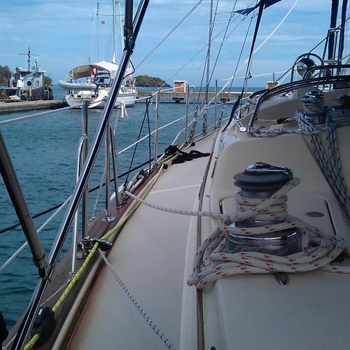 On Board At The Marina Part 1