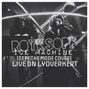 Röyksopp - Ice Machine (Depeche Mode cover) Live on Lydverket