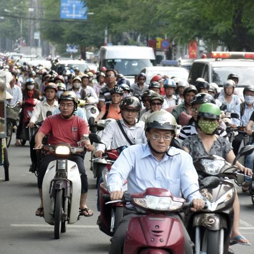 Trafico Ho Chi Minh (edit)