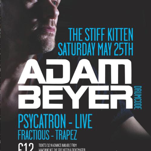 Fractious - Warm up for Adam Beyer @ The Stiff Kitten, Belfast (25-05-13) FREE DOWNLOAD