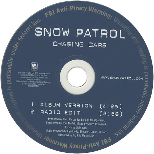 Snow Patrol - Chasing Cars (Anthony Taratsas Remix) [FREE DOWNLOAD]