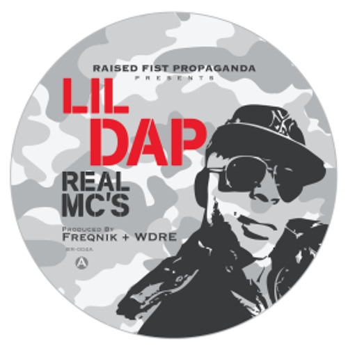 LIL DAP FROM THE GROUP HOME Real MC's Produced By FREQNIK & WDRE Out Now On 7 Inch Vinyl