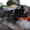 Steam Loco - Black Five at North Yorkshire Moors Railway.