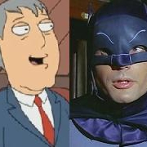Chatting with Adam West