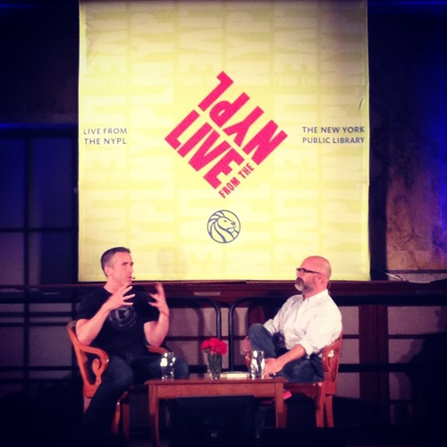 Dan Savage and Andrew Sullivan in conversation about marriage equality and remoralizing marriage