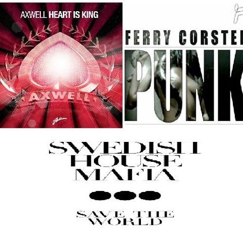 Axwell vs SHM vs Ferry Corsten - Heart Will Save The Punk (Cem Gursoy Reboot)
