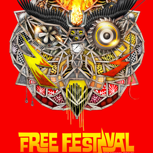 Bass-D - Free Festival - The Harder Styles Podcast #2