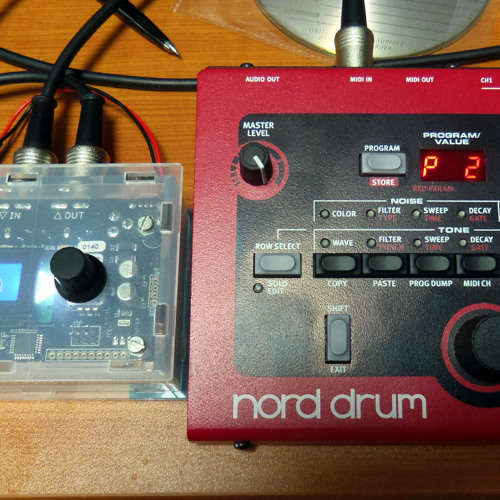 Nord drum and MidiPal