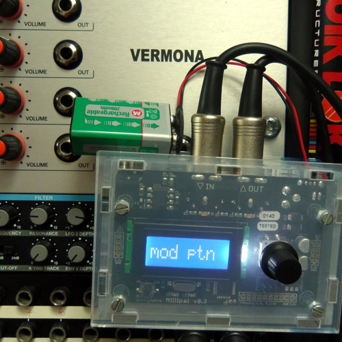 Vermona DRM1 and Midipal