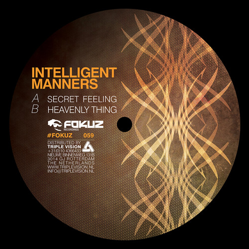Intelligent Manners - Heavenly Thing (FOKUZ vinyl & digital)