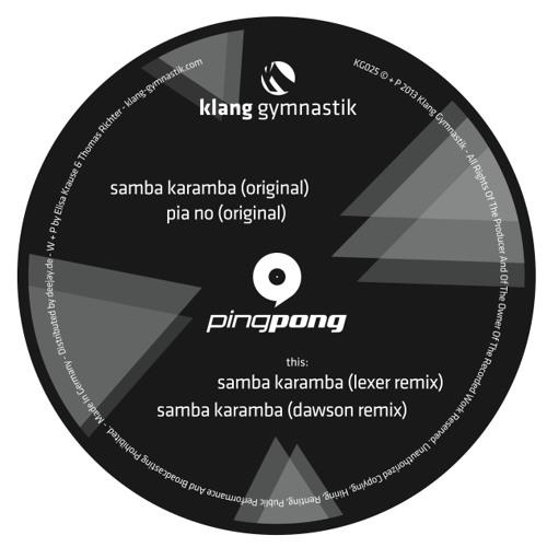 PINGPONG - Samba Karamba (Original)