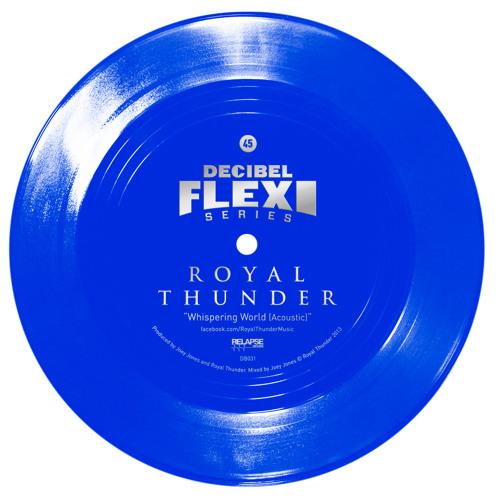 "Royal Thunder ""Whispering World (Acoustic)"" (dB031)"