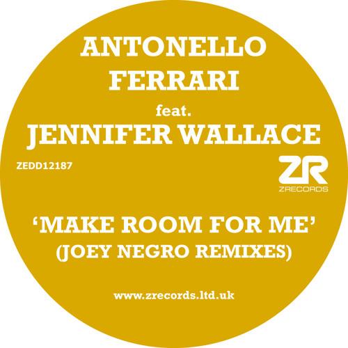 "Antonello Ferrari feat. Jennifer Wallace ""Make Room For Me"" Joey Negro Disco Boogie Dub Extravaganza"
