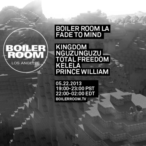 Kingdom 40 Minute Mix Boiler Room Los Angeles