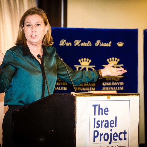 Israel's Justice Minister and Envoy to the Peace Process Tzipi Livni Addresses Negotiations