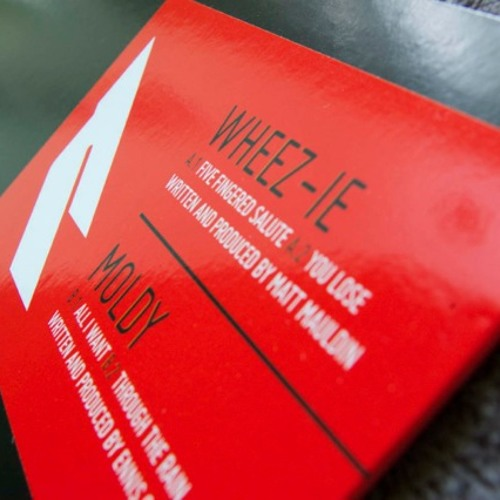"EMB016 Wheez-ie / Moldy - Five Fingered Salute / All I Want 12""+Digi"