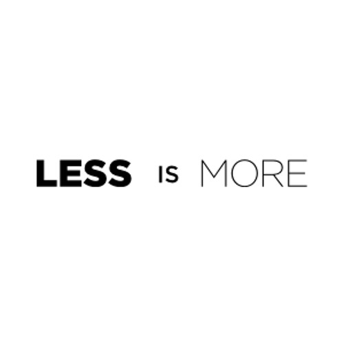 Less is More (Premastered)