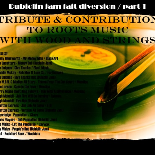 TRIBUTE AND CONTRIBUTION TO ROOTS MUSIC WITH WOOD AND STRINGS / DUBIOLIN JAM FAIT DIVERSION / PART 1