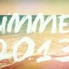 Summer 2013 Mashup