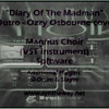 Diary Of The Madman (Ozzy Osbourne, outro) Syntheway Magnus Choir VST Plugin Software Win MacOSX