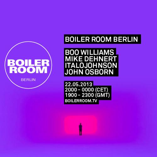 Italojohnson 55 Min Boiler Room Berlin Mix