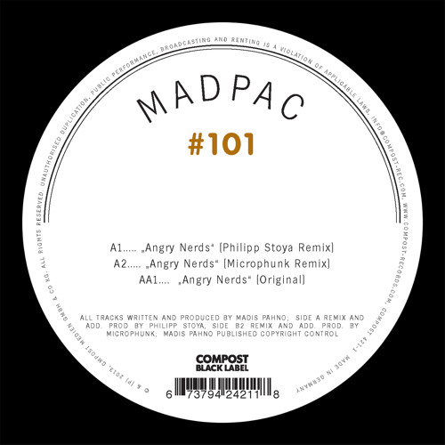 CPT 421-1 | Madpac - Angry Nerds | Compost Black Label 101