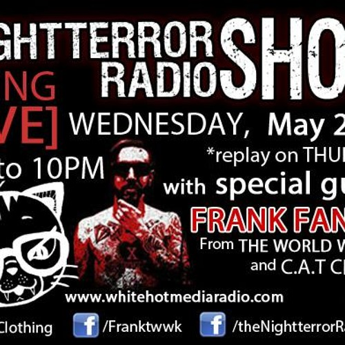 Night Terror Radio Show Episode 26 (Frank Fanelli)