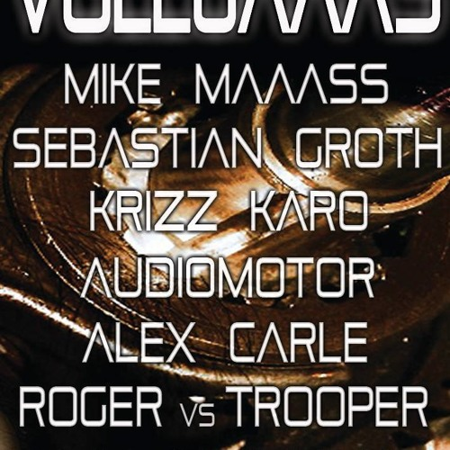 Sebastian Groth DJ set live at Vollgaaas-Clubhaus Wiesbaden 29-05-13