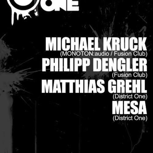 Michael Kruck - Triptychon District One 31.05.2013