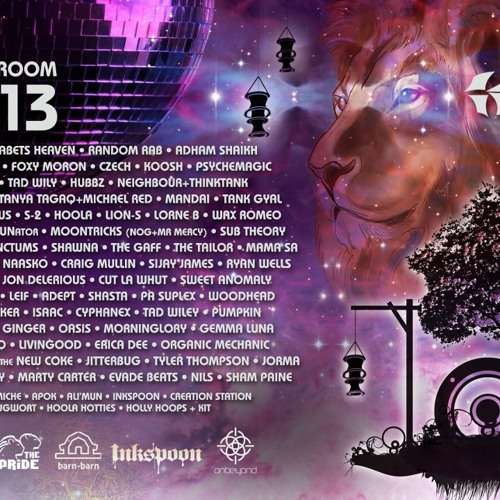 The Living Room 2013 featured artists