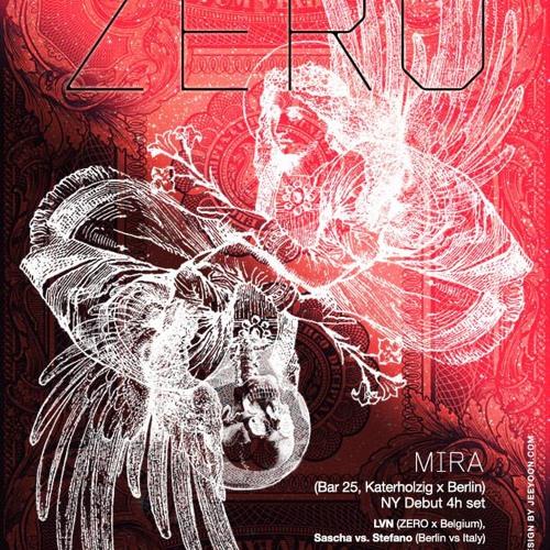 Mira Zero Party NYC 2013-05-26
