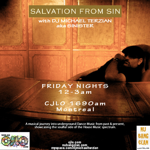 Salvation From Sin (2013-05-31) with DJ MICHAEL TERZIAN