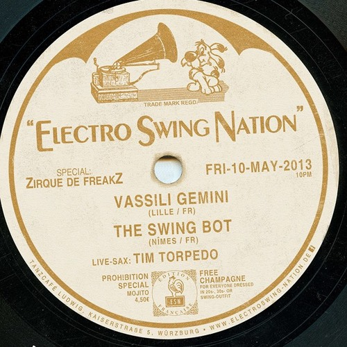 The Swing Bot mix @ The ElectroSwing Nation 10.05.13