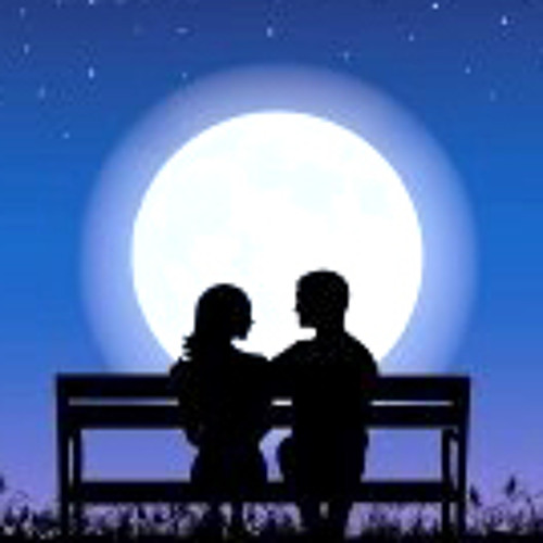 Lovers Holding Hands In Moonlight - solo piano