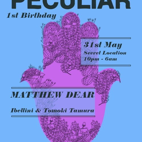 TOMOKI TAMURA MIX SHOW 005 / LIVE DJ from Peculiar@Loft Studio in London MAY 2013 Pt01