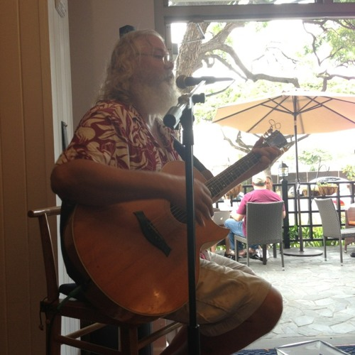 Local Braddah Playing at Blue Tree Café