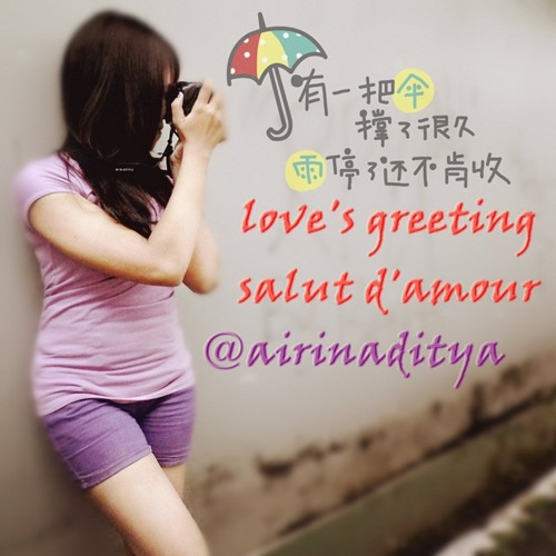 Salute d'amour : LOVE greeting - Solo Piano By @airinaditya